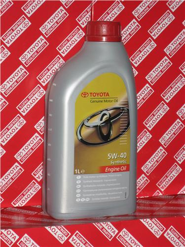 Toyota Engine oil .